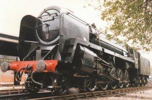 1996 - Bluebell Railway - BR Standard 9F - 92240