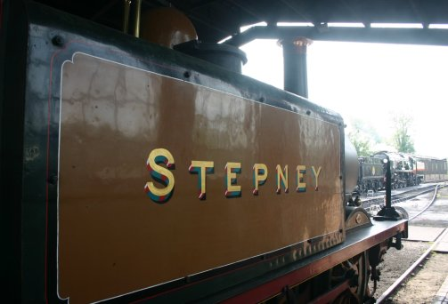 2009 - Bluebell Railway - Sheffield Park - A1X terrier 55 Stepney, Dukedog 9017 & rebuilt Battle of Britain class 34059 Sir Archibald Sinclair