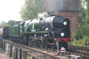 2009 - Bluebell Railway - Sheffield Park - Rebuilt Battle of Britain class - 34059 Sir Archibald Sinclair