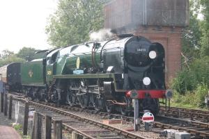 2009 - Bluebell Railway - Sheffield Park - Rebuilt Battle of Britain class - 34059 Sir Archibald Sinclair