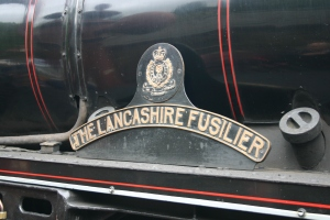 2009 - North Yorkshire Moors Railway - Goathland - 45407 The Lancashire Fusilier name plate