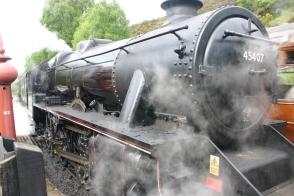 2009 - North Yorkshire Moors Railway - Goathland - 45407 The Lancashire Fusilier