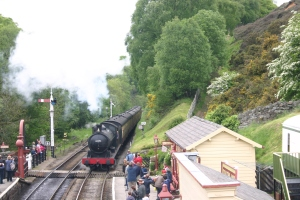 2009 - North Yorkshire Moors Railway - Goathland - ex-LNER Q6 class - 63395