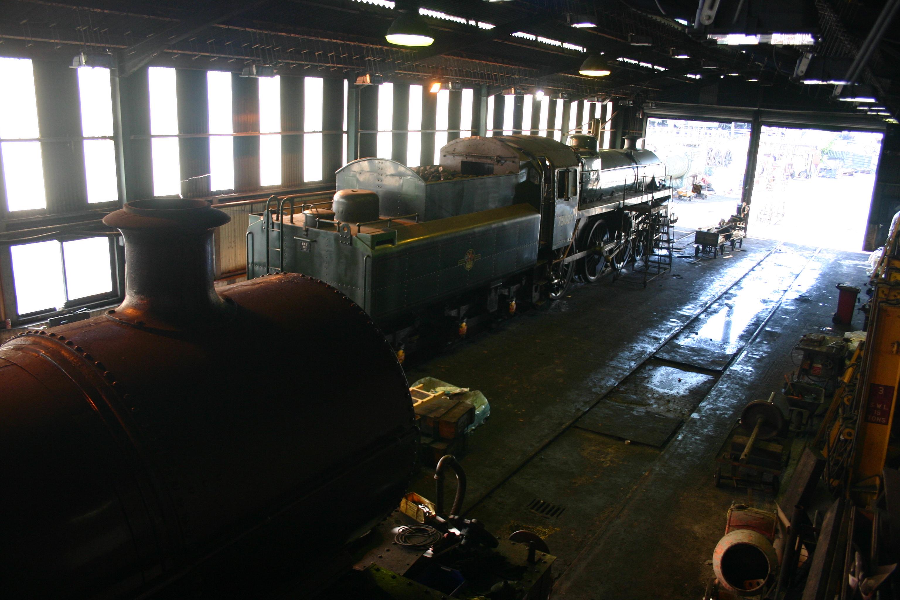 Model Train Christmas