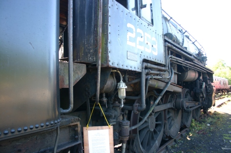 2009 - North Yorkshire Moors Railway - Grosmont - USATC S160 -2253
