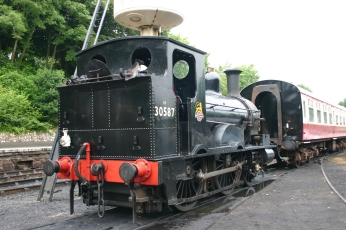 2010 - Bodmin and Wenford Railway - Bodmin General - Beattie Well Tank 30587