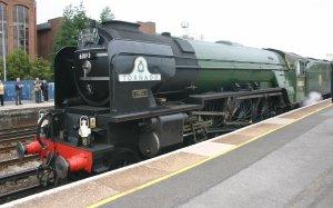 2011 - Eastleigh - A1 class - 60163 Tornado - Cathedrals Express - BR Brunswick Green