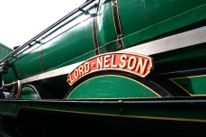 2011 - Ropley - 850 Lord Nelson (name plate)