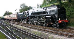 2011 - Watercress Line - Ropley - BR Standard 9F - 92212