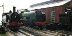 Locoyard 00 scale - Southern scenes 2012 - Hornby M7 tank 357 & schools class 925 Cheltemham