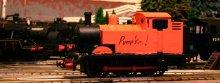 Pumpkin the Halloween Train at Locoyard