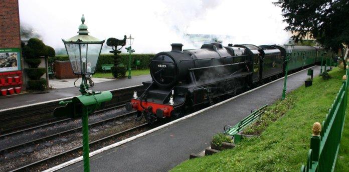 2012 - Watercress Railway - Ropley - Ex - LMS Black 5 5MT - 45379