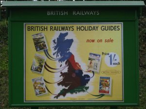 2012 - Watercress Railway - Ropley - British Railways Holiday Guides Poster
