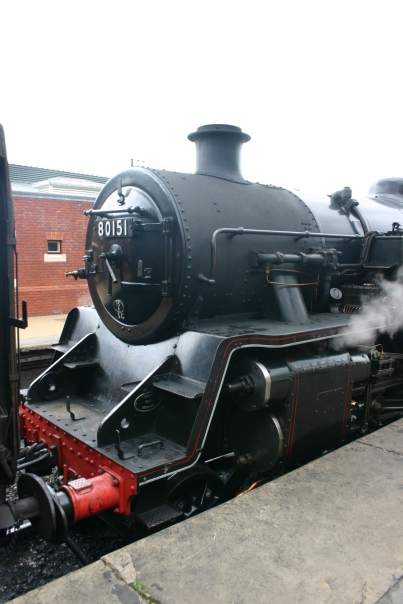 2011 - Bluebell Railway - Sheffield Park - BR Standard 4MT Tank - 80151 (smokebox)