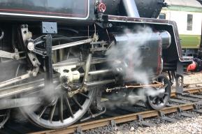 2011 - Bluebell Railway - Sheffield Park - BR Standard 4MT Tank - 80151 (valve gear)