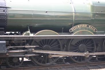 2011 - Great Central Railway - Loughborough - GWR 49xx Hall class - 4953 Pitchford Hall (motion)