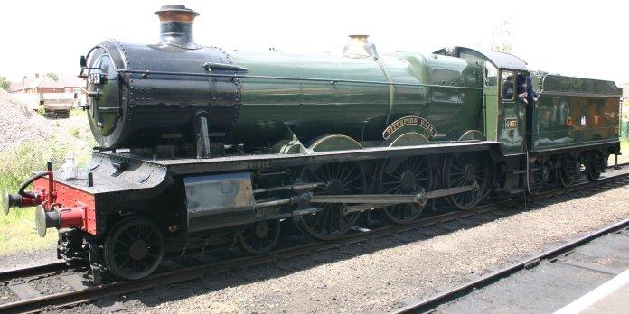 2011 - Great Central Railway - Loughborough - GWR 49xx Hall class - 4953 Pitchford Hall
