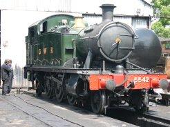 2011 - Great Central Railway - Loughborough - GWR Prairie 4575 tank - 5542