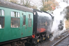 2011 - Watercress Line - Ropley - BR Standard 9F - 92212