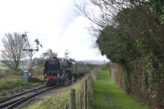 2011 - Watercress Line - Ropley - BR Standard 9F - 92212 Santa Special