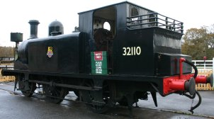 2012 - Isle of Wight Steam Railway - Havenstreet - Ex - LBSCR E1 class - 32110 (bunker & Toolkit)