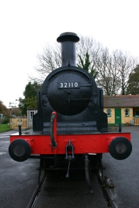 2012 - Isle of Wight Steam Railway - Havenstreet - Ex - LBSCR E1 class - 32110 (front smokebox)