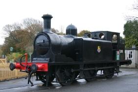 2012 - Isle of Wight Steam Railway - Havenstreet - Ex - LBSCR E1 class - 32110
