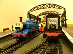 Graeme Watson @NigelGresleyA4 Locoyard Movember 2012 competition entry