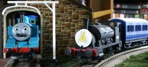 Locoyard Children in Need Train and Movember Thomas the Tank Engine