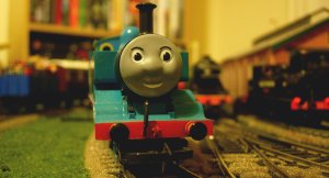 Locoyard Thomas the Tank engine - clean shaven