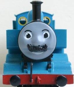 Thomas the Tank Engine Movember at Locoyard (After)