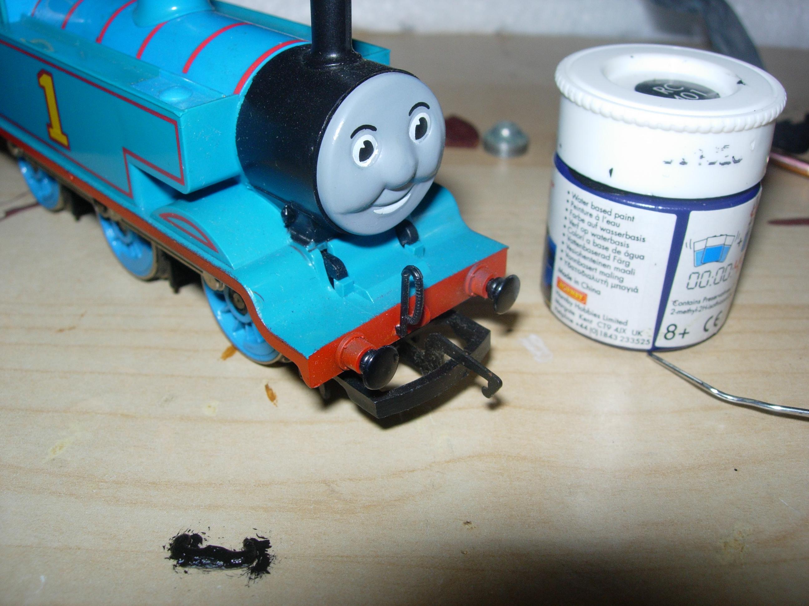 Thomas the Tank Engine Movember at Locoyard (Step Two) | Loco Yard