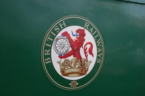 2012 - Watercress Line - Medstead and Four Marks - BR Mark 1 lion emblem