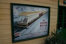 2012 - Watercress Line - Medstead and Four Marks - Devon Belle Poster