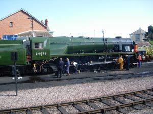 2008 - West Somerset Railway - Minehead - 34046 Braunton