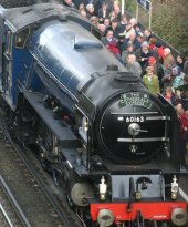 2012 - Mainline Working - The Cathedrals Express - Winchester - A1 class - 60163 Tornado - BR Blue
