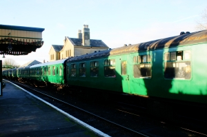 2012 - Watercress Line - Alresford  - SR green mark one carriages
