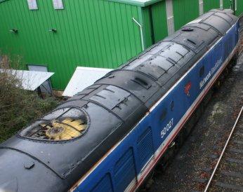 2012 - Watercress Line - Ropley - class 50 50027 Lion