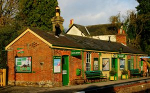 2012 - Watercress Line - Medstead and Four Marks