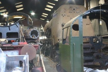 2012 - Watercress Line - Ropley - Engine Works