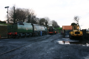 2012 - Watercress Railway - Ropley - Unrebuilt West Country class 34007 Wadebridge & Southern 850 Lord Nelson
