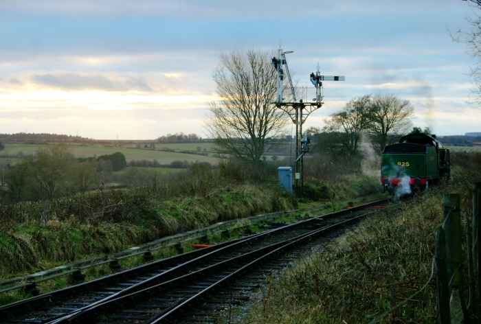 2012 - Watercress Line - Ropley - SR Schools class V - 925 Cheltenham