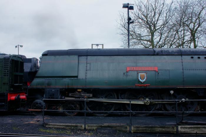 2012 - Watercress Line - Ropley - Ex-SR unrebuilt West Country class - 34007 Wadebridge