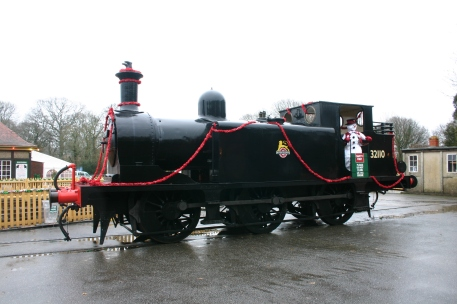December 2012 - Isle of Wight Steam Railway - Havenstreet - Ex - LBSCR E1 class - 32110