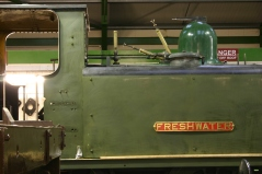 December 2012 - Isle of Wight Steam Railway - Havenstreet - Ex - LBSCR A1X terrier class - W8 Freshwater