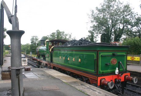 2009 Bluebell Railway - Sheffield Park - SECR C class - 592