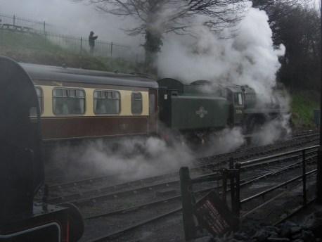 2011 - Watercress Line - Ropley - BR standard class 5MT 73096 & ex-SR U class 31806
