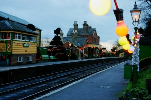 2012 - Watercress Line - Ropley Christmas Lights