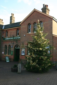 2012 - Watercress Railway - Alresford - Christmas Tree