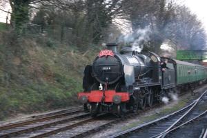 2012 - Watercress Railway - Santa Special - Ropley - Ex - SR U class - 31806